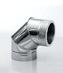 колено 90° из нержавеющей стали