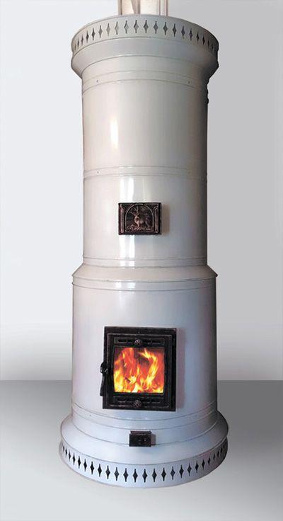 Печь круглая отопительная Голландка - ПКО-30