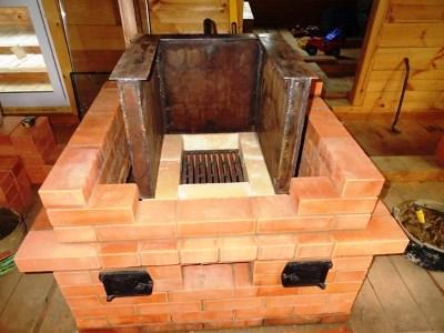 Встроить котел в печь
