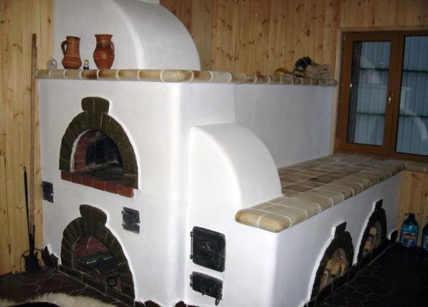 Русская печка лежанка